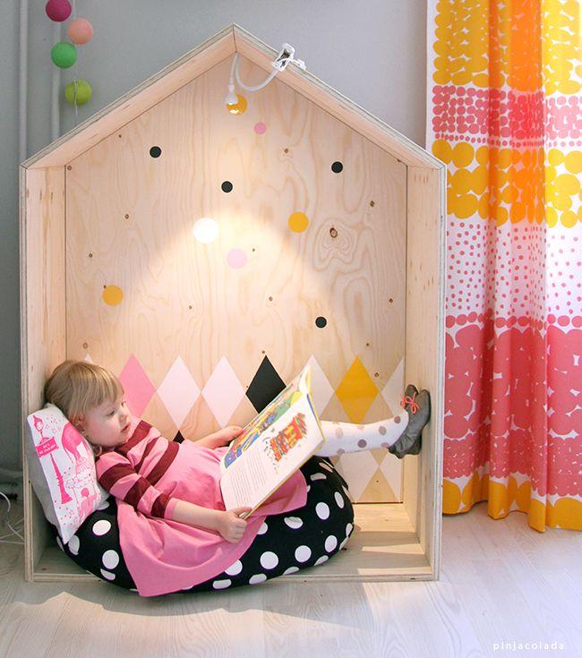 Crear h bito de lectura a trav s del espacio el clip for Decoracion de espacios de preescolar